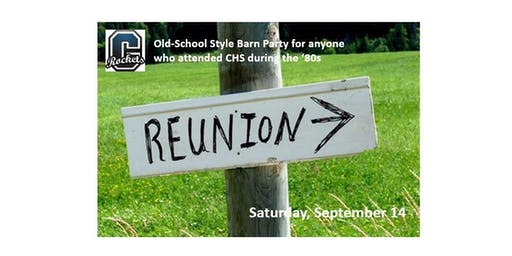 Central Rockets '80s Reunion Celebrating the BEST. Decade. EVER.
