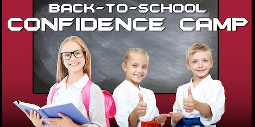 Back To School Confidence Camp
