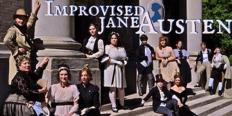 Improvised Jane Austen tickets