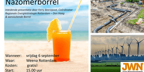 Nazomerborrel Jong Warmtenetwerk tickets
