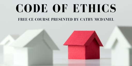 Free Code of Ethics CE Class