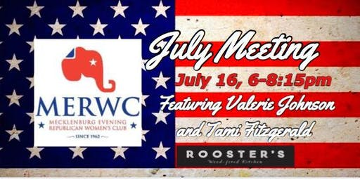 MERWC July Meeting at Rooster's