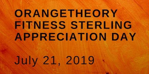 Oranetheory Fitness Sterling Appreciation Day