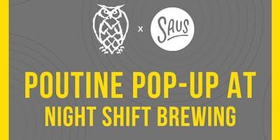 Saus Pop-Up at Night Shift Brewing