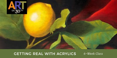 TUE - Getting Real with Acrylics with instructor Chuck McPherson