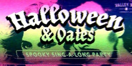 HALLOWEEN & OATS tickets