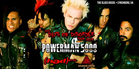 The Days of Disorder Tour tickets