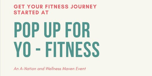 POP UP FOR YO-FITNESS