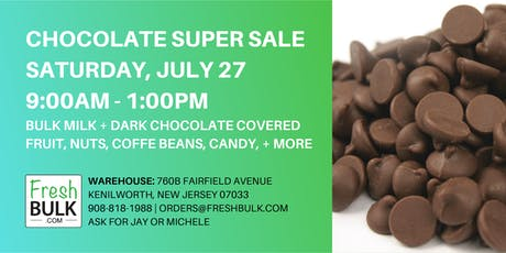 Chocolate Super Sale tickets
