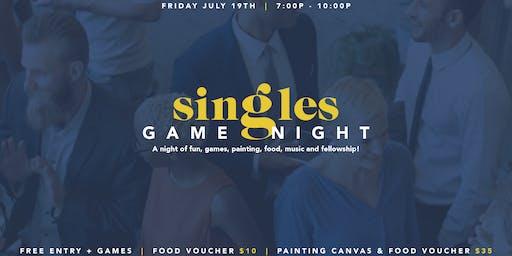 "Summer Jamz  ""SINGLES GAME NIGHT"""
