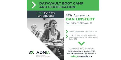 Datavault boot camp & certification - Montréal