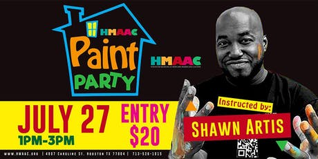 HMAAC Paint Party tickets