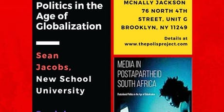 Media in Postapartheid South Africa tickets