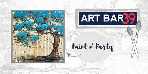 Paint & Sip | ART BAR 39 | Public Event | The Party Tree