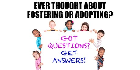 Ask Questions, Get Information About Fostering or Adopting A Child (Seguin) tickets