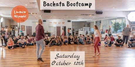 OCTOBER BACHATA BOOTCAMP - Beginner Levels II & III tickets