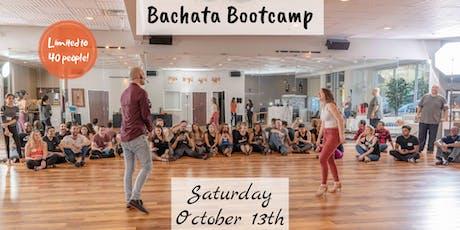 OCTOBER BACHATA BOOTCAMP - Intermediate Level I tickets