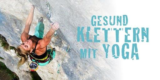 Gesund Klettern mit Yoga // Workshop für ambitionierte Kletterer