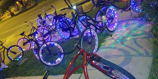 Friday Night Lights Bicycle Ride