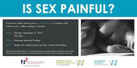 Sexual Pain in Endometriosis Workshop tickets