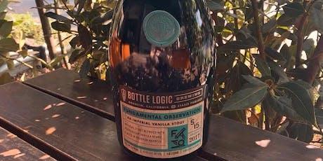 Eureka! Bottle Logic Fundamental Observation 2017 Raffle Ticket  tickets