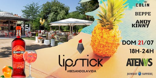 Lipstick Sunday @Terraza Atenas Domingo 21 de Julio Start 18H