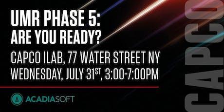 Capco & Acadiasoft UMR event  tickets