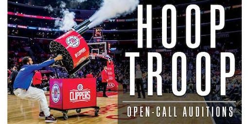 LA Clippers Hoop Troop Auditions
