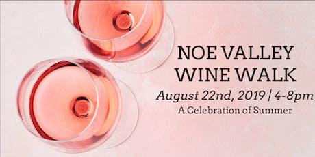 2019 Noe Valley Wine Walk tickets