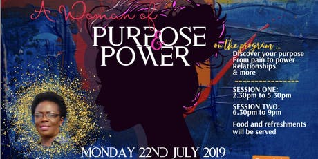 A Woman of Purpose & Power tickets