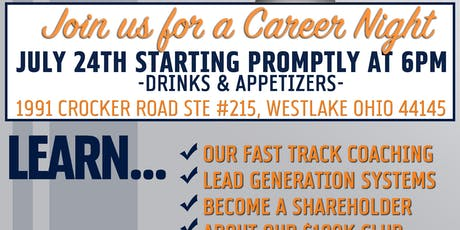 Real Estate Career Night July 2019 tickets