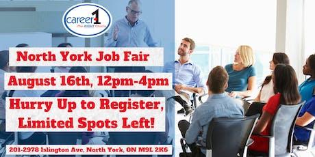 Job Fair-North York-Career1 tickets