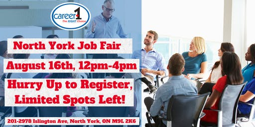Job Fair-North York-Career1