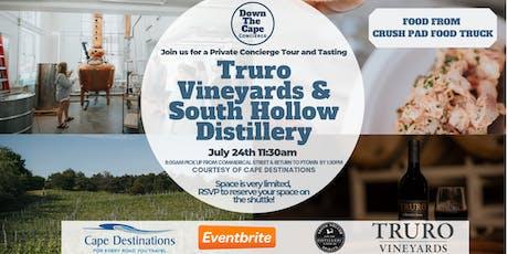 Truro Vineyards Concierge Day tickets