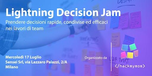 LDJ: prendere decisioni rapide, condivise ed efficaci nei lavori di team