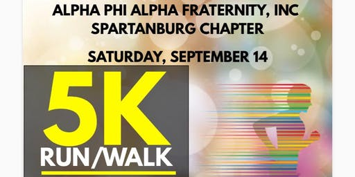 Alpha Phi Alpha Spartanburg Chapter 5K Gold Rush Walk/Run