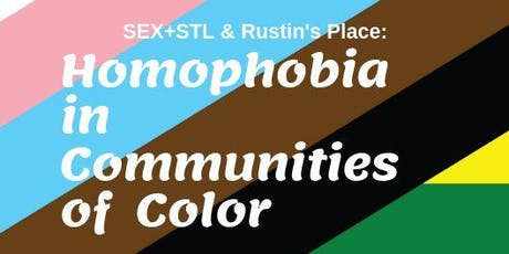 Homophobia in Communities of Color tickets