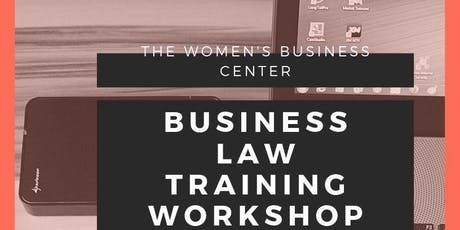 Business Law Free Workshop Event  tickets