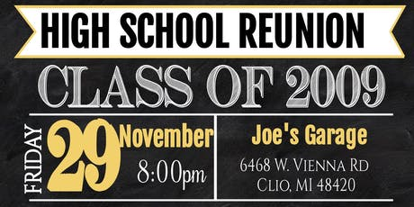 Class of 2009 10 Year Reunion tickets