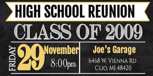Class of 2009 10 Year Reunion