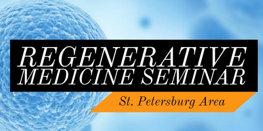 FREE Stem Cell for Pain Relief Lunch Seminar - St. Petersburg, FL