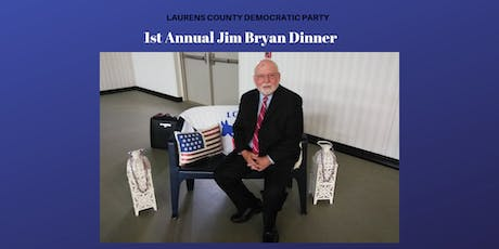1st Annual Jim Bryan Dinner tickets