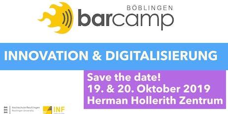 Barcamp Böblingen 2019 tickets