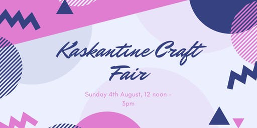 Craft Fair at De Kaskantine!