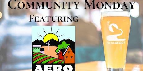 Community Monday with AERO tickets