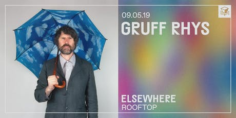 Gruff Rhys @ Elsewhere (Rooftop) tickets