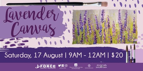 EAFB - Lavender Canvas tickets