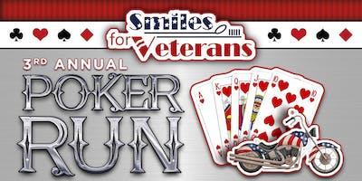 3rd Annual Smiles for Veterans Poker Run