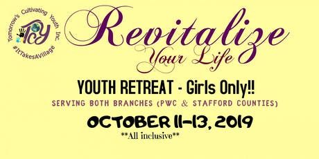 TCYouth Inc. Youth Retreat for Females! tickets