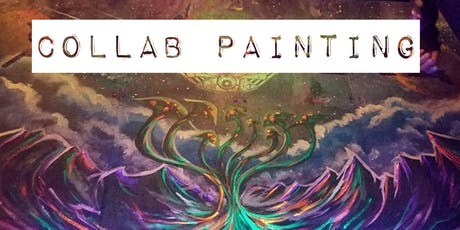 Collab Painting Class with Muralist Khalil Riddick tickets